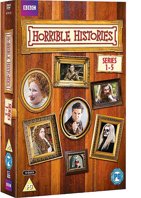 Horrible Histories - Series 1-5 (DVD Boxset)