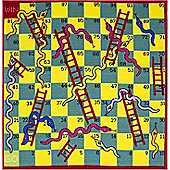 Snakes and Ladders Play Mat 133 x 133 cm