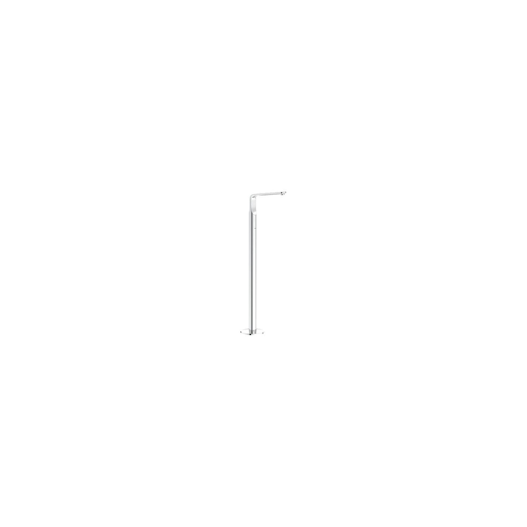 Grohe Ondus Veris Mono Bath Filler Tap, Floor Standing, Chrome at Tesco Direct