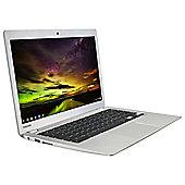 "Toshiba  CB30-B-103, 13.3"" Chromebook, Intel Celeron, 2GB RAM,  16GB SSD - Silver"