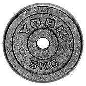 York Fitness 5kg Cast Plate