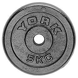 York Fitness 5kg Cast Plate