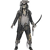Ghost Ship Ghoul - Adult Costume Size: 42-44