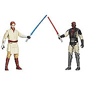 Star Wars Mission Series - Obi-Wan Kenobi and Darth Maul Figures