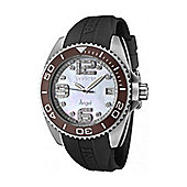 Invicta Angel Unisex Date Display Mother of Pearl Watch - 1059
