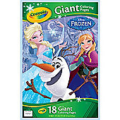 Crayola Disney Frozen Giant 18 Colouring Pages