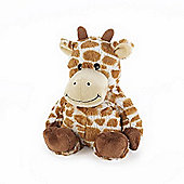 Intelex Warmies Heatable Giraffe Microwavable Cozy Plush Soft Toy