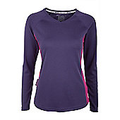 Endurance Women's Long Sleeve Technical Tee - Purple
