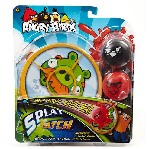 Angry Birds Splat 'n' Catch Splat Game