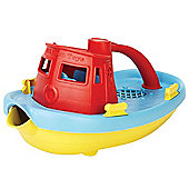 Green Toys TUG01R-R Tugboat (Red)