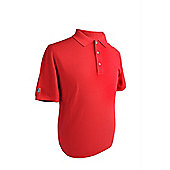 New Cleveland Golf Cornerstone Polo Shirt Red Large