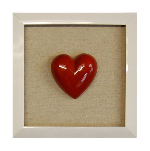 Novus Imports Heart In a Frame Metal Wall Art