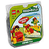 LEGO Duplo Read & Build Let's Go! Vroom! 6760