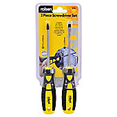 Rolson 2 piece Screwdriver set