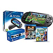 """PS VITA SLIM (TEARAWAY, FIFA 14 AND PLAYSTATION VITA STARTER KIT )"""