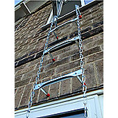 SafEscape 4.58m (15.03ft) Big Hook Fire Escape Ladder