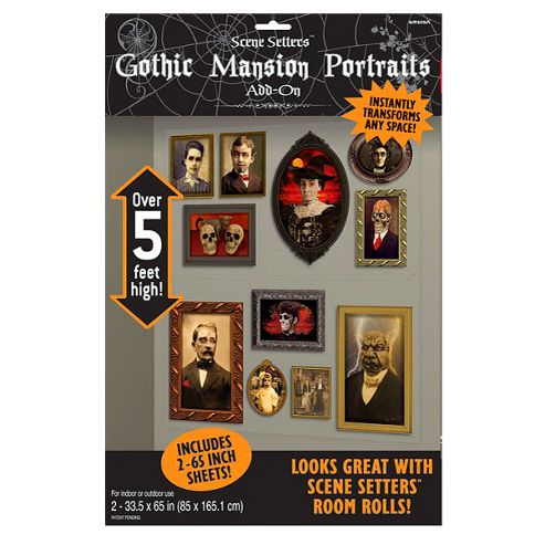 Halloween Scene Setters Portrait Add-On - 5ft (2pk)