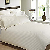 Julian Charles Mayfair Cream 300 Thread Count 100% Egyptian Cotton Duvet Cover - Double