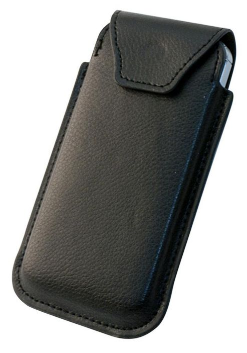 Tortoise™ Genuine Leather Slip Case Universal Medium Black