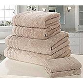 Zero Twist Hand Towel - Taupe