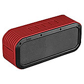 Divoom Voombox Portable Outdoor Bluetooth Speaker, Vermillion Red