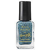 Barry M Nail Paint 340 Aqua Glitter 10Ml