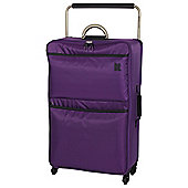 IT Luggage World's Lightest 4-Wheel Suitcase, Purple Magic Large