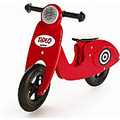 John Crane Tidlo Red Scooter