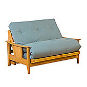 Kyoto Atlanta 2 Seater Convertible Sofa Clic Clac Bed - Louisa Natural
