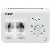 Pure One Classic S2 DAB/ FM Radio White