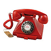 GPO 1929S Carrington Push Button Telephone - Red