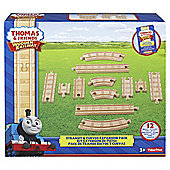 Fisher-Price Thomas and Friends Wooden Railway Straight and Curved Expansion Pack