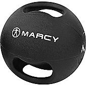 Marcy Double Handle Medicine Ball Rubber - 7kg