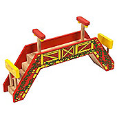 Bigjigs Rail BJT191 Double Track Footbridge