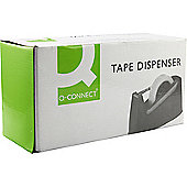 Q-Connect Desk Tape Dispenser for 33 and 66 Metre Tapes Black 11010