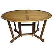 Windsor 150cm Round Wooden Gateleg Garden Table