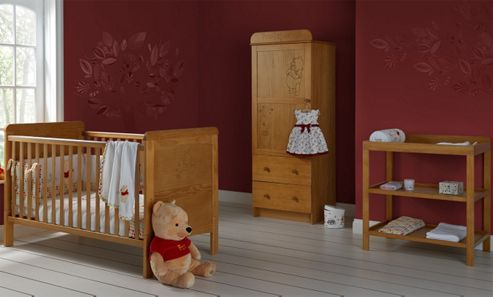 Disney Winnie the Pooh 3 Piece Furniture Set - Country Pine
