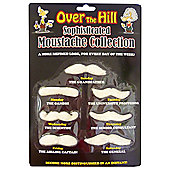 Over the Hill Sophisticated Moustache Collection