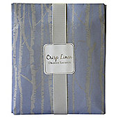Greenhill & York  Crisp Linen Sented Drawer Sachet Blue