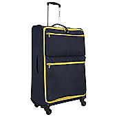 Revelation by Antler Skye 4-Wheel Suitcase, Navy Large