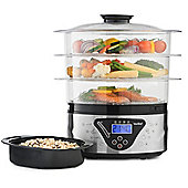 VonShef Digital 3-Tier Electric Food Steamer