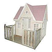 Wickey Veranda for playhouse Swallow's Nest