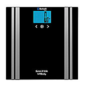Salter MiBody Bluetooth Digital Body Analyser Bathroom Scales - Black - 9159BK3R