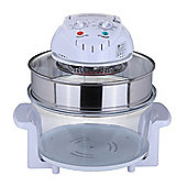 Homegear 12L 1400W Halogen Convection Mini Oven W/ Cooking Accessories Pack