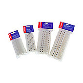 15A Terminal Block Electrical Strip Connector 3 Pack