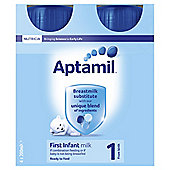 Aptimil First Milk 4 x 200ml