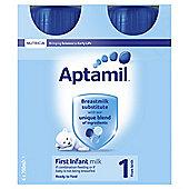 Aptimil First Milk 4 x 200ml