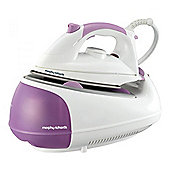 Morphy Richards 42244 Steam Generator Iron, with Diamond soleplate, 2200W, in Purple