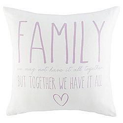 Novelty Family Cushion