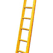 Heavy Duty 7.0m (23.0ft) Timber Single Pole Ladder